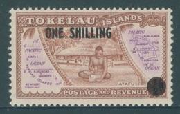 TOKELAU -  MNH/*** LUXE - 1956  - Yv  5 OVERPRINT 1 SHILLINGS -  Lot 18343 - Tokelau