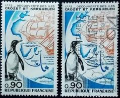 FRANCE/Frankreich 1972, Discovery Of The Islands Of Crozet And Kerguelen Neuf Et Oblitéré > Neuf Sur Charnière TBE - Expéditions Antarctiques