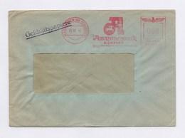Umschlag AFS - HASBERGEN, Amazonenwerk H. Dreyer , 8Pfg, 13.10.42 - Deutschland