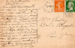 1924  CARTOLINA CON ANNULLO  CARCASONNE - Storia Postale