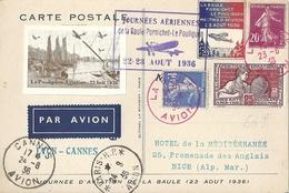 Carte France Journée Aérienne Pornichet Le Pouliguen - La Baule Paris 1936 - Autres