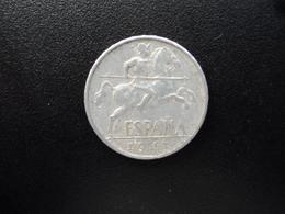 ESPAGNE : 10 CENTIMOS   1941  KM 766 *   TTB - 10 Centimos