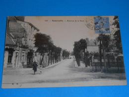 41 ) Romorantin N° 597 - Avenue De La Gare  -  Année 1929 - EDIT - A.G - Romorantin