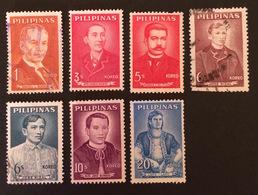 PHILIPPINES YT 1962-64 N°537 à 542 - Philippines