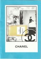 """CHANEL """"Les Exclusifs """"  **La PAUSA**  Superbe Grande Carte (17 / 12cm) - Cartes Parfumées"""
