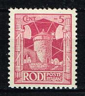 Italien - Colonie EGEO Rodi  1929, Mi. Nr. 17 Ungebraucht / MNH / Nuovo , Gomma Integra - Aegean (Rodi)