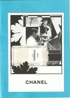 "CHANEL ""Les Exclusifs ""  **BOY**  Superbe Grande Carte (17 / 12cm) - Perfume Cards"