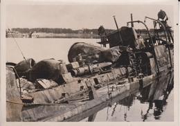 SOWJET RUSSISCHE ZERSTORER LENIN  OSTSEEHAFEN DER UDSSR  FOTO DE PRESSE WW2 WWII WORLD WAR 2 WELTKRIEG Aleman Deutchland - Guerra, Militares