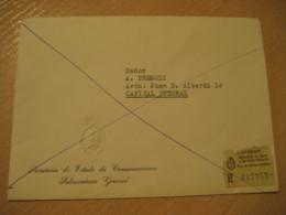 GAONA To Capital Secretaria De Estado De Comunicaciones Subsecretario General Expreso Registered Cover ARGENTINA - Argentina