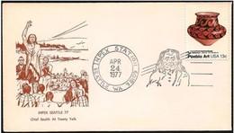 Stati Uniti/États-Unis/United States: Capo Indiano, Indian Chief, Chef Indien - Indiani D'America