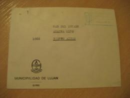 MUNICIPALIDAD DE LUJAN 1979 To Buenos Aires Postage Paid Cancel Cover ARGENTINA - Otros