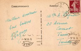 1926  CARTOLINA CON ANNULLO  CARCASONNE - Storia Postale