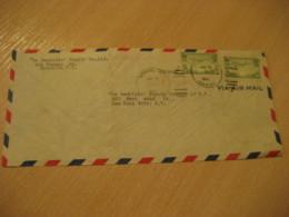 HONOLULU 1941 Clipper Via Air Mail HAWAII Cancel Cover USA - Hawaï