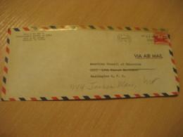HONOLULU 1947 Kamehameha School Of Girls HAWAII Air Mail Cancel Cover USA - Hawaï