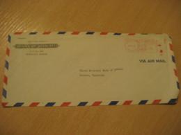 HONOLULU 1948 Bank Of HAWAII Meter Air Mail Cancel Cover USA - Hawaï