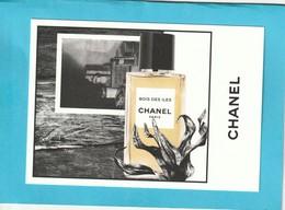 """CHANEL """"Les Exclusifs """"  **BOIS DES ÎLES**  Superbe Grande Carte (17 / 12cm) - Perfume Cards"""