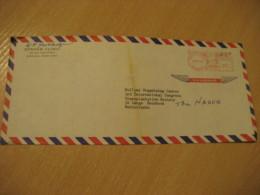 HONOLULU 1970 Straub Clinic HAWAII Meter Air Mail Cancel Cover USA - Hawaï