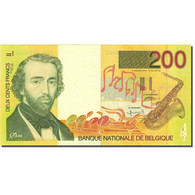 Billet, Belgique, 200 Francs, 1994-1997, Undated (1995), KM:148, SPL - [ 2] 1831-... : Royaume De Belgique