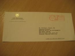 HONOLULU 1992 ITT Sheraton Japan Division HAWAII Meter Mail Cancel Cover USA - Hawaï