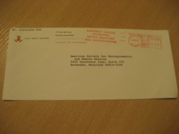 HONOLULU 1995 East-West Center HAWAII Meter Mail Cancel Cover USA - Hawaii