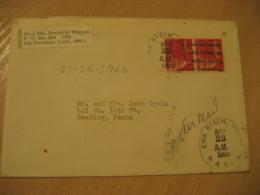 EWA BEACH 1965 To Reading HAWAII Cancel Air Mail Cover USA - Hawaii