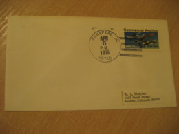 HANAPEPE 1976 HAWAII Cancel Air Mail Cover USA - Hawaii