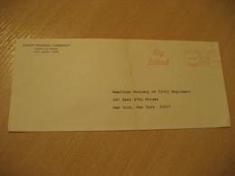 HILO 1968 Big Island County Of HAWAII Meter Mail Cancel Cover USA - Hawaï