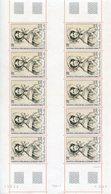 TAAF;1981;feuille Complète De 10 TP PA N°68;Adèle Domont D'Urville ; NEUVE** ; MNH - Blocs-feuillets
