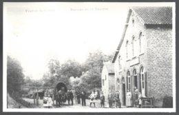 Reproduction Photo Carte Postale: Fouron Le Comte, Bureau De La Douane .dos Vierge - Fourons - Voeren