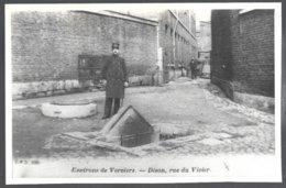 Reproduction Photo Carte Postale: Environs De Verviers, Dison,rue Du Vivier .dos Vierge - Dison