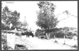 Reproduction Photo Carte Postale: GRANDMENIL .Le Village  .dos Vierge Et N° écrit Au Bic - Manhay