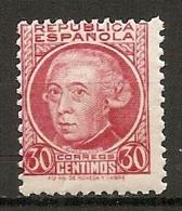 Yv. N° 532  ** MNH  30c  Jovelianos   Cote 0,5 Euro  BE   2 Scans - 1931-Today: 2nd Rep - ... Juan Carlos I