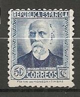 Yv. N° 533  (*)  50c  Salmeron   Cote 2 Euro  BE   2 Scans - 1931-50 Neufs