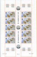 TAAF; 1981;feuille Complète De 5 Paires  Du  TP N°71 ; NEUVE** ; MNH - Blocs-feuillets