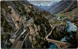 Wassen - Gotthardbahn - UR Uri