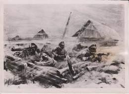 REICHSBAHNKRIEGSMALER  DRESDEN  FOTO DE PRESSE WW2 WWII WORLD WAR 2 WELTKRIEG Aleman Deutchland - Guerra, Militares