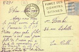 1931    CARTOLINA CON ANNULLO  CARCASONNE - Francia