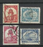 Estland Estonia 1932 Universty Dorpat Tartu Michel 94 - 97 O - Estonia
