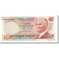 Billet, Turquie, 20 Lira, 1974, L.1970, KM:187a, SUP - Turquie