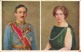 301118 - ROYAUTE ROUMANIE SERBIE YOUGOSLAVIE - Reine MARIE Et ALEXANDRE Ier De Yougoslavie - Yougoslavie
