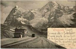 Wengernalp Mit Zug - BE Berne