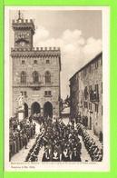 SAN MARINO - GLI ECC.MI CAPITANI REGENTI ED IL LORO CORTEO - Carte Vierge - Saint-Marin