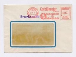 Umschlag AFS - NÜRNBERG, Carbidkontor GmbH, Fachgeschäft Für Schweißtechnik, Wacker Carbid 1938 - Allemagne