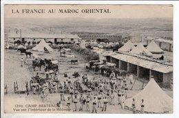 Cpa Carte Postale Ancienne  - Camp Berteaux : Vue Sur L'intérieur De La Redoute La France Au Maroc Oriental - Autres