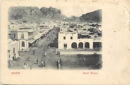 Pays Div -ref N719- Yemen - Aden - Arab Town - Carte Bon Etat - - Yémen