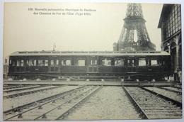 NOUVELLE AUTOMOTRICE ÉLECTRIQUE DE BANLIEUE DES CHEMINS DE FER DE L'ÉTAT ( Type 1912 ) - Trains