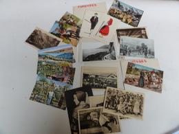 Carte Postale Vosges Militaria Jura Cote D Azur Vintage - Cartes Postales