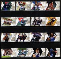 GB, Yv Jaar 2012, Uit De Reeks Medal Gold Winners, 16 Waarden, Off Paper, Gestempeld, Zie Scan - Oblitérés