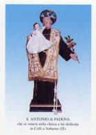 Colli A Volturno IS - Santino SANT'ANTONIO DI PADOVA Venerato Nella Chiesa Dedicata A Lui - PERFETTO P84 - Religione & Esoterismo