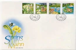 Isle Of Man Set On FDC - Environment & Climate Protection